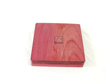 Zucati Dice Base™: Player Core- Purpleheart Wood