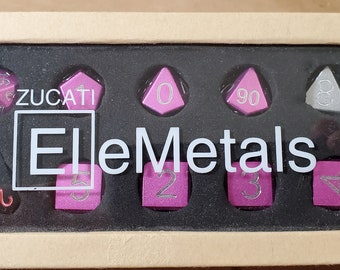 Zucati Elemetals Mixed Aluminum Set of 10