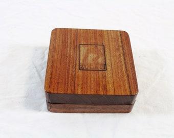 Zucati Dice Base™: Quarter Core - Bolivian Rosewood