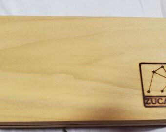Zucati Dice Base™ Half Core Wood Case - Exactly As Seen - Poplar