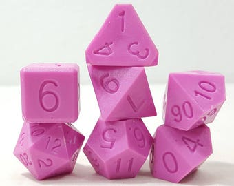 Perfect Plastic Dice - RAW - Pink