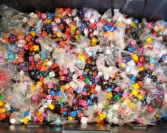 Zucati HALF Pound of Dice: Massive Variety of Dice of all kinds