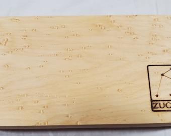 Zucati Dice Base™ Half Core Wood Case - Exactly As Seen - Birdseye Maple