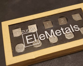 Zucati Elemetals Mixed Metal Magnesium / Titanium Set of 10