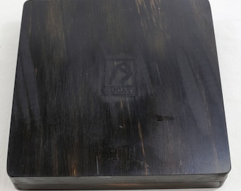 Dice Base™: Player Core - Dice - Pen - Rolling Surface in Gabon Ebony 3/3 Limited Edition