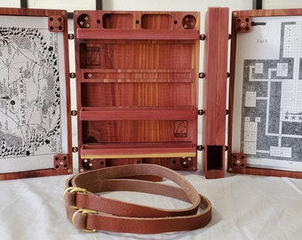 Zucati Dungeon Master Screen - Master Bundle - Comes with Everything Seen - Aromatic Cedar