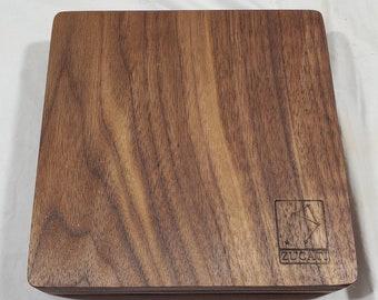 Zucati Dice Case / Tray / Rolling Surface - Player Core - Walnut