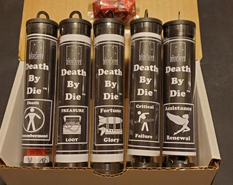 Death by die™ - Master Set of 42 - White Box Edition