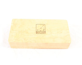 Zucati Dice Base™: Half Core - Birdseye White Maple