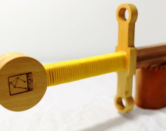 Ring Guard Sword - Solid Yellowheart and Cherry Wood
