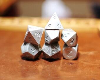 Zucati Dice: Magnesium Polyhedral