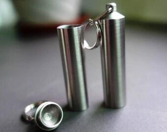 Zucati Branded Stainless Steel Vial