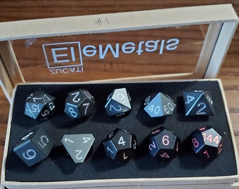 Final #1 Zucati EleMetal™ Aluminum Polyhedral Set - Custom- As Seen