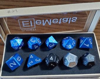 Final #29 Zucati EleMetal™ Aluminum Polyhedral Set - Custom- As Seen