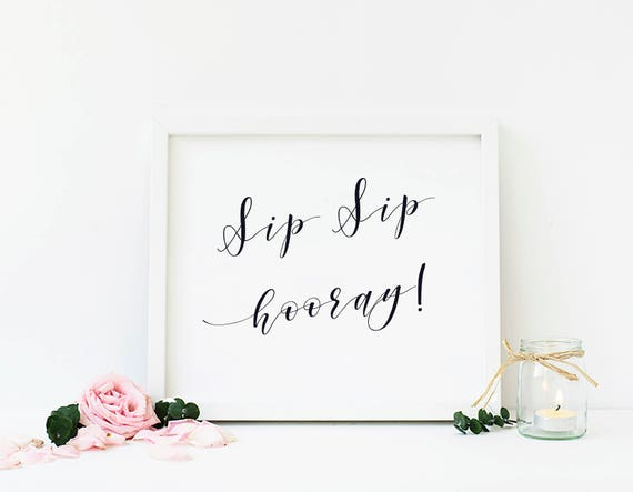 image relating to Sip Sip Hooray Printable called Bachelorette Social gathering, Sip Sip Hooray, Sip Sip, Wedding ceremony