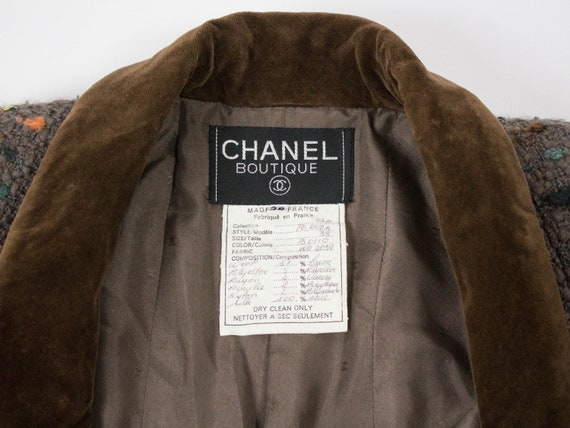 Chanel Vintage Jacket, 1990s Chanel Authentic, Br… - image 5
