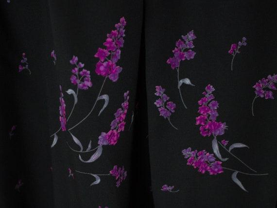 Silk Dress, 40s Vintage Dress, Swing Style, 40s F… - image 7