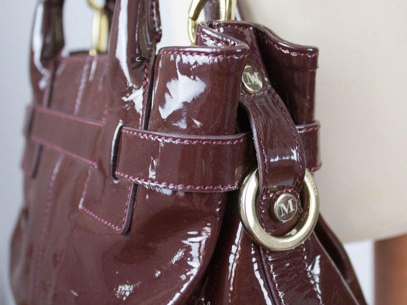 a91c4e77df9f4 Italienische Ledertasche Vintage Armband Tasche Bruno Magli