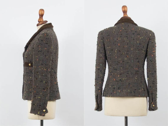 Chanel Vintage Jacket, 1990s Chanel Authentic, Br… - image 3