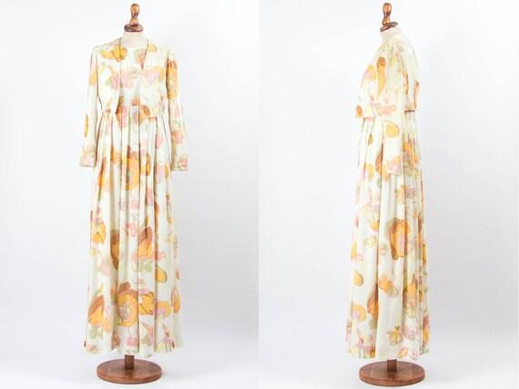 Hippie Boho Clothing, Boho Maxi Dress, Vintage Fl… - image 3