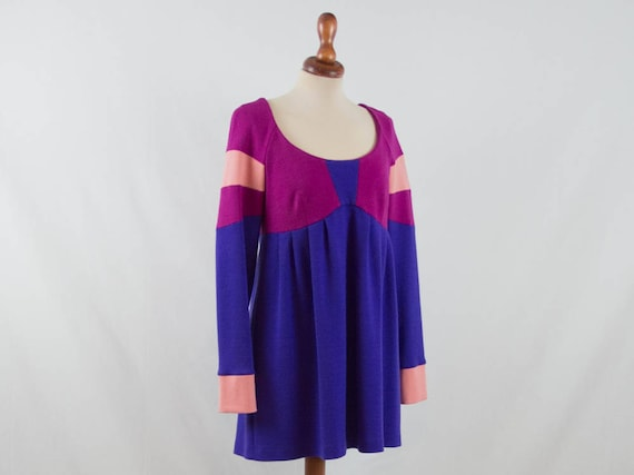 Pucci dress, wool Emilio Pucci, vintage Pucci, win