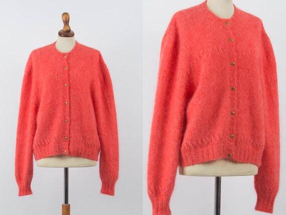 Mohair Sweater, Oversize Sweater, Vintage Jumper,