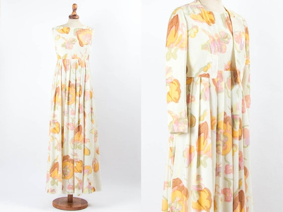 Hippie Boho Clothing, Boho Maxi Dress, Vintage Flo