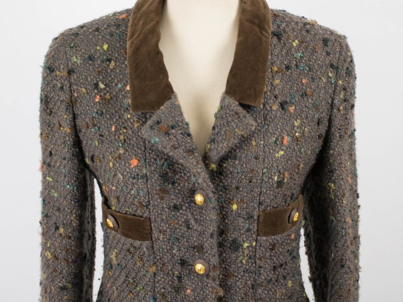 Chanel Vintage Jacket, 1990s Chanel Authentic, Br… - image 2
