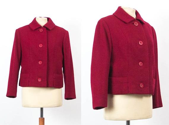 Red Blazer, 50s Vintage, 1950s Fashion, 50s 60s, C