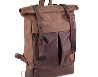 52b7b32bc5 Roll top backpack