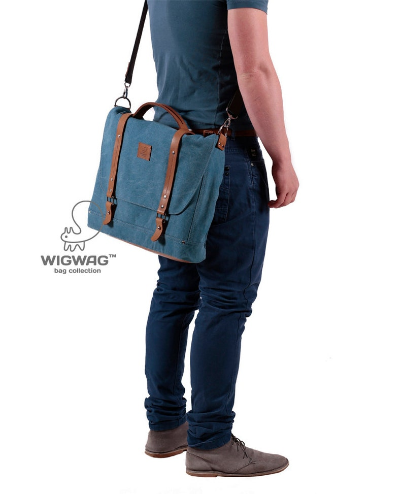 shoulder bag canvas laptop bag leather canvas briefcase men/'s laptop bag leather handle briefcase Men/'s briefcase canvas briefcase
