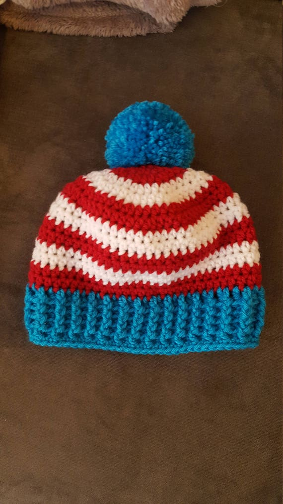 Dr. Seuss cat in the hat crochet hat. Infant to adult sizes  6a9ca5897df