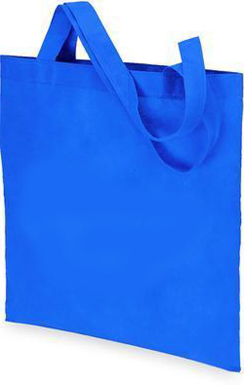 Elegant Shopping Blank  Plain Non Woven Tote Bag Craft /& Promotion Ideal For Personalized Gifts