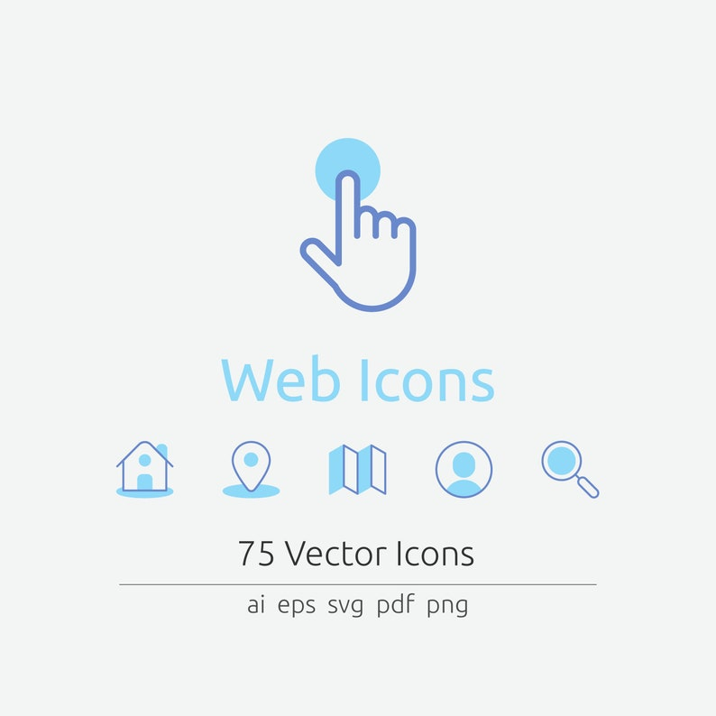 Web Icons in Vector and PNG image 0