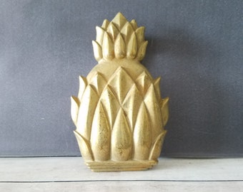 Pineapple Door Knocker/ Brass Pineapple Decor/ Brass Pineapple/ Brass Door  Knocker/ Vintage