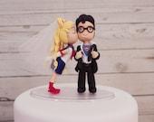 Sailor Moon and Clark Kent Superman