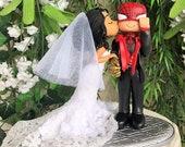 Spider-Man Wedding Cake Topper Figurine