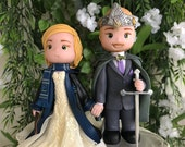 Custom Handcrafted Wedding Cake Topper