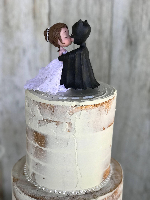 Batman Wedding Cake.Batman Wedding Cake Topper