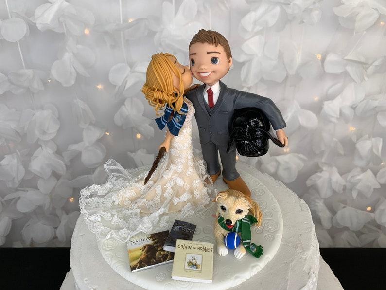 Darth Vader Cake Topper Harry Potter Cake Topper Wedding image 1