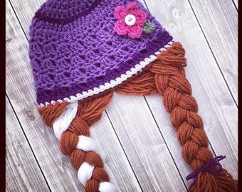 Crochet frozen hat etsy popular items for crochet frozen hat fandeluxe Images