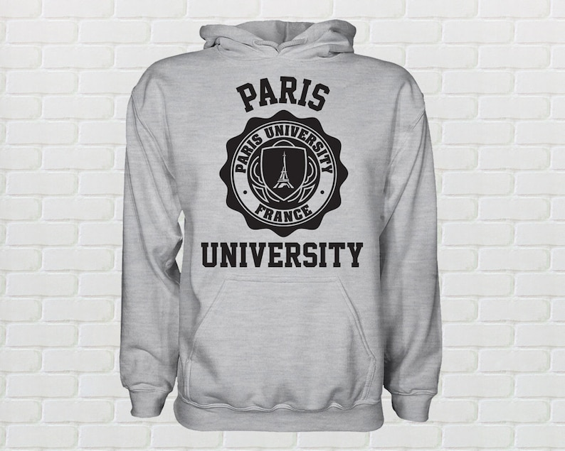 f4e1f218a University of Paris Hoodie All Sizes Available | Etsy
