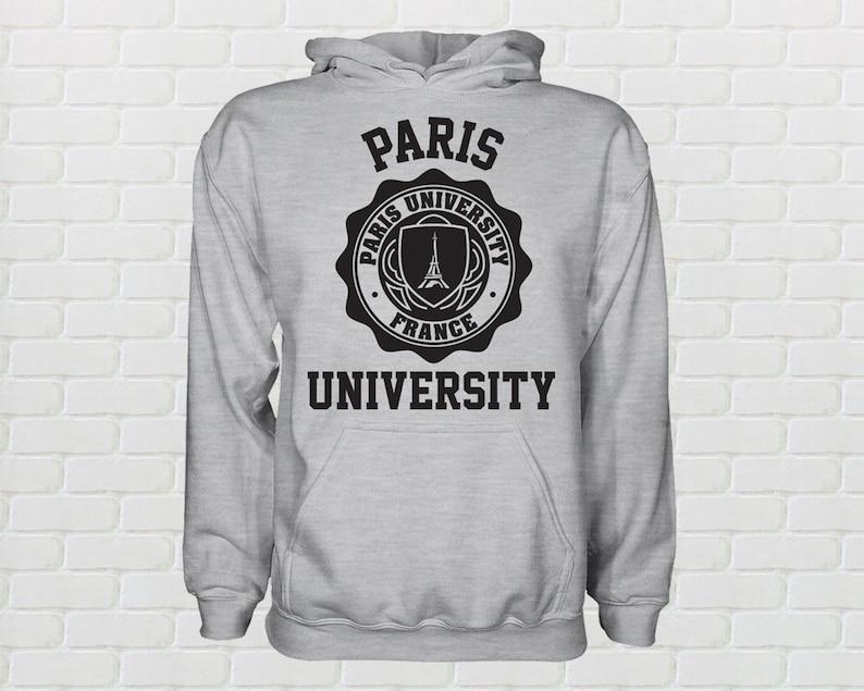 Universitè Donna Felpa Felpa Paris Donna A34Rq5Lj