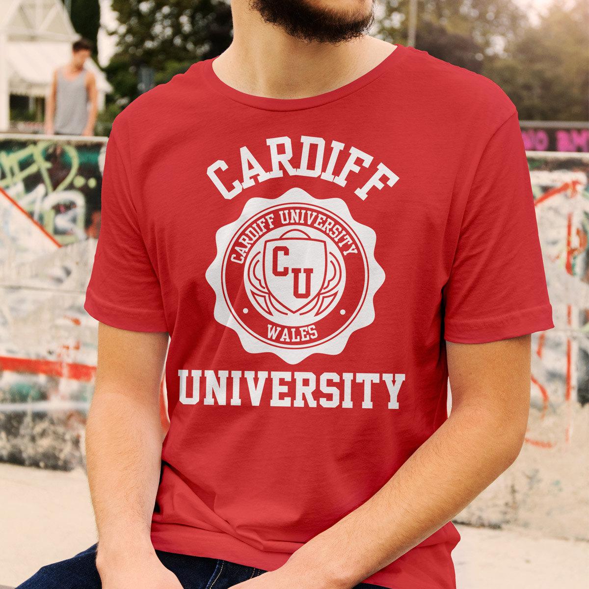 Cardiff University Logo T-Shirt All Colours and Sizes | Etsy