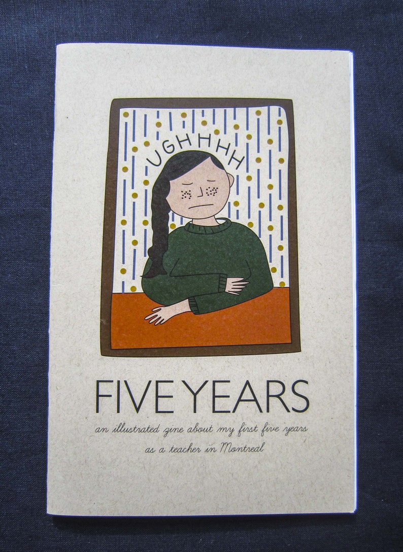 Five Years: An illustrated zine about my first five years as a image 0