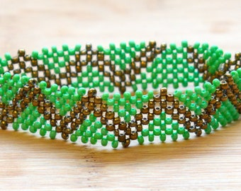 Metallic Beaded Bracelets