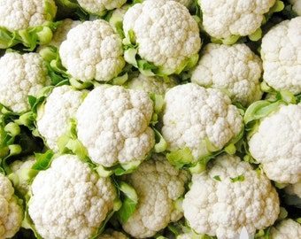Snowball Y Improved Cauliflower Heirloom Seeds - Non-GMO, Open Pollinated, Untreated