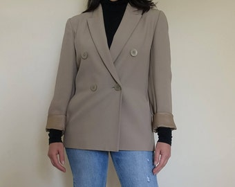 Vintage Double Breasted Blazer Sz Small