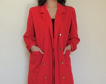 Vintage Knit Duster US 4/6 Small/Med