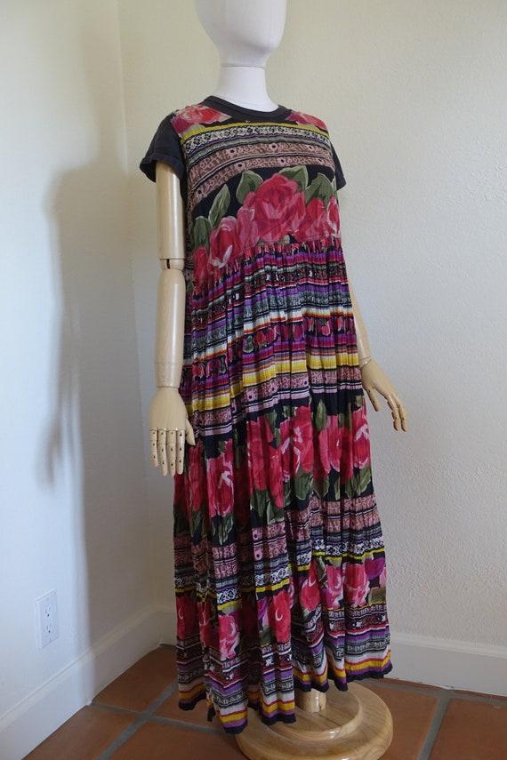 Vintage 90s floral grunge dress Medium/Large